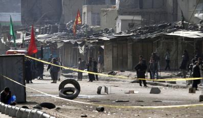 Masakra w Kabulu. Dziesiątki zabitych, setka rannych