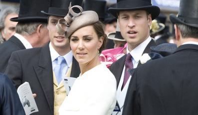 Księżna Kate z małżonkiem księciem Williamem.