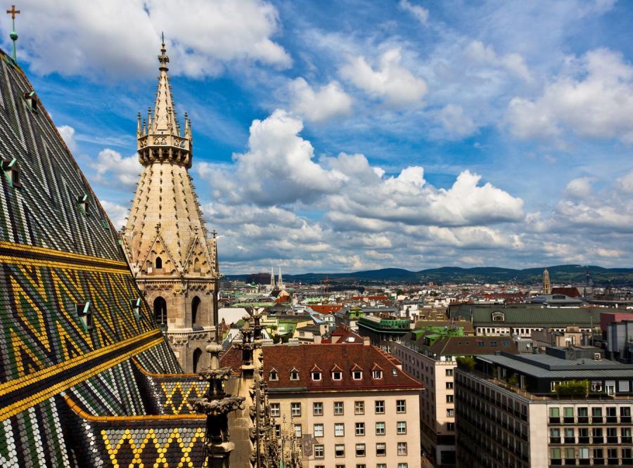 Wiedeń, zdjęcie ilustracyjne