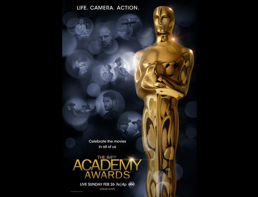 Oficjalny plakat 84. ceremonii wręczenia Oscarów