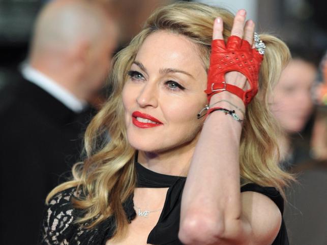 """Madonna na premierze """"W.E."""" w Londynie"""
