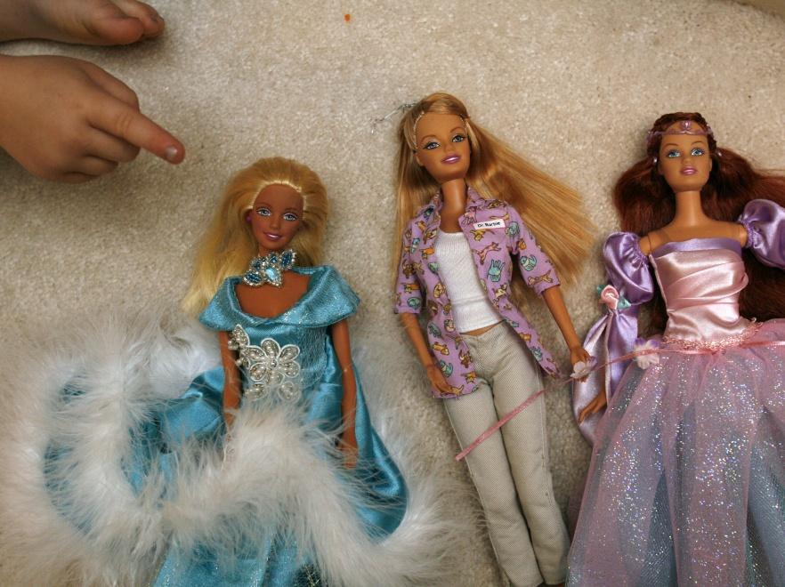 Lalki Barbie.