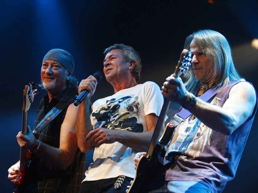 Deep Purple: Roger Glover, Ian Gillan i Steve Morse