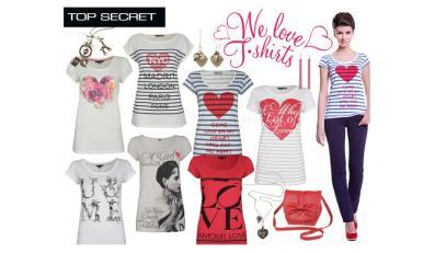 Koszulki dla zakochanych - kolekcja marki Top Secret