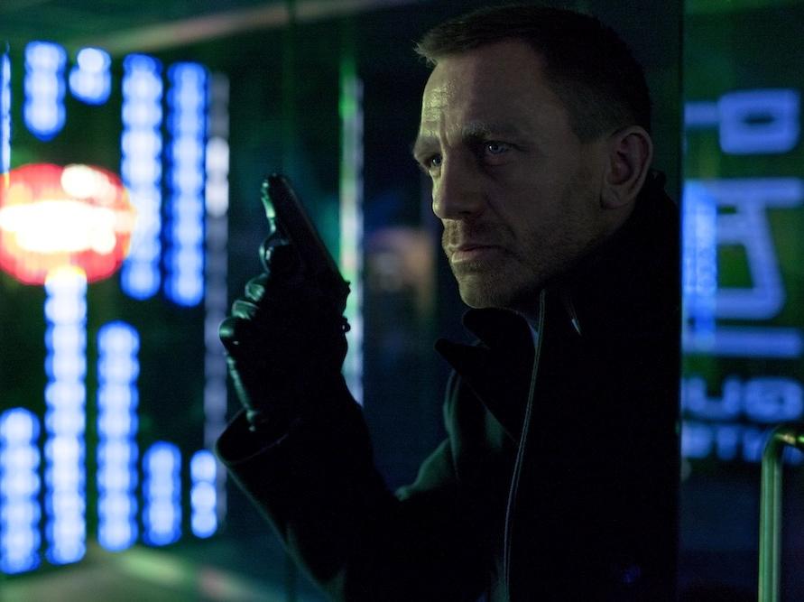 Daniel Craig w filmie \