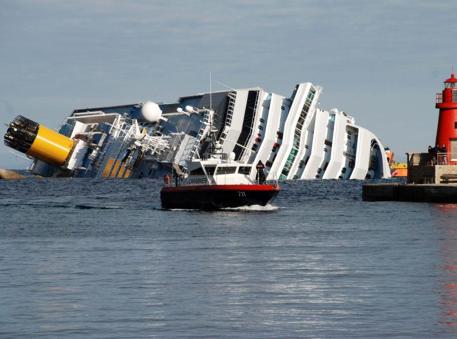 Wrak statku Costa Concordia