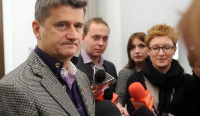 Janusz Palikot krytykuje Donalda Tuska w sprawie ACTA