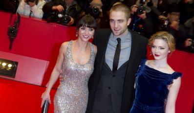 Robert Pattinson z Christiną Ricci i Holliday Grainger na Berlinale