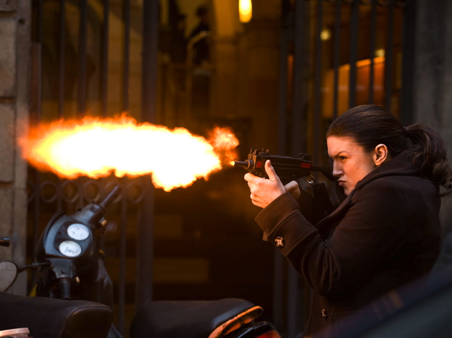 Maria Carano, nawet jeśli nie jest wybitną aktorką, jest profesjonalnym cyborgiem