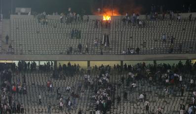 Zamieszki podczas meczu Al-Masry - Al-Ahly