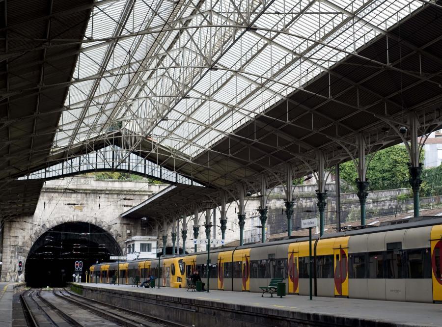 Dworzec w Portugalii
