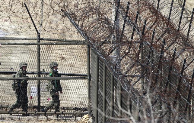 Na granicy Korei Północnej i Południowej