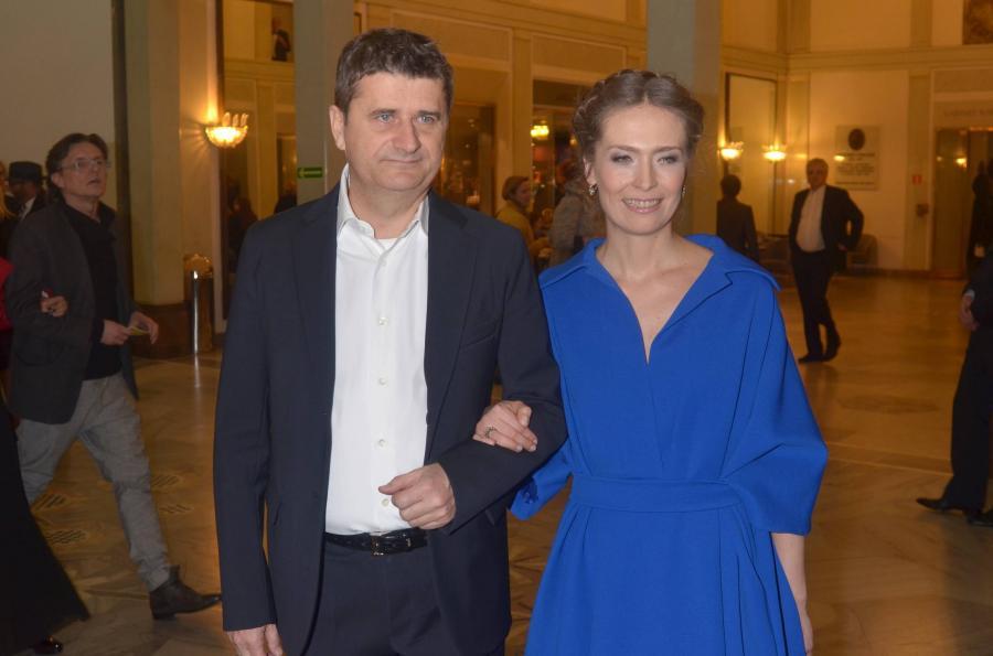 Janusz Palikot z żoną
