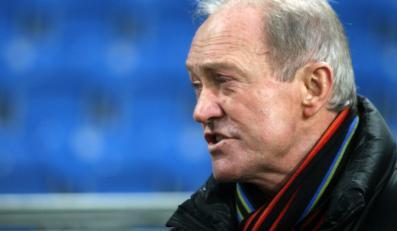 Trener reprezentacji Polski Franciszek Smuda