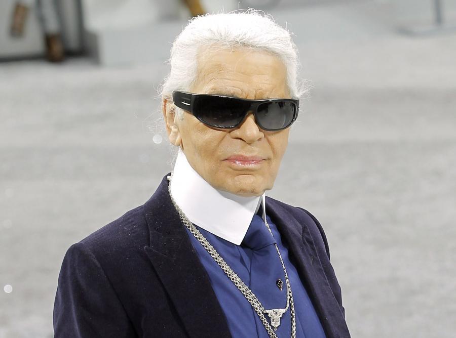 Karl Lagerfeld wcielił się w Boga
