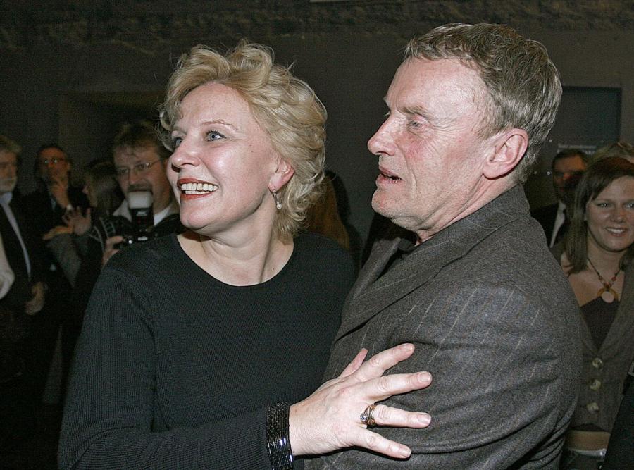 Krystyna Janda i Daniel Olbrychski