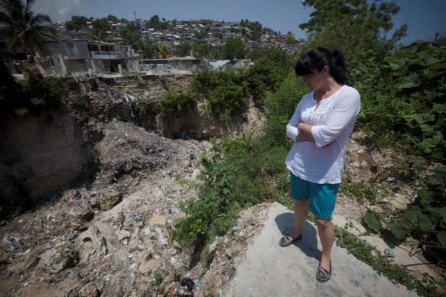 Ewa Drzyzga na Haiti
