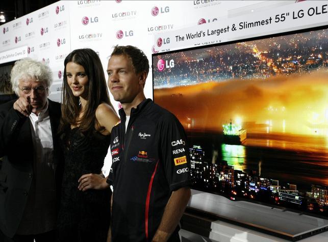 Telewizor LG OLED 55''. Prezentacja w Monte Carlo
