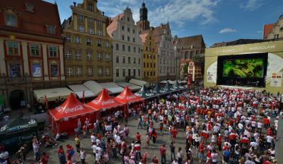 Strefa kibica podczas Euro 2012 we Wrocławiu