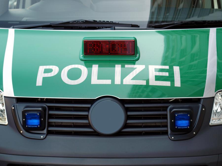 Samochód niemieckiej policji