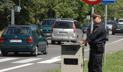 Bezrobotni z radarem postrachem kierowców