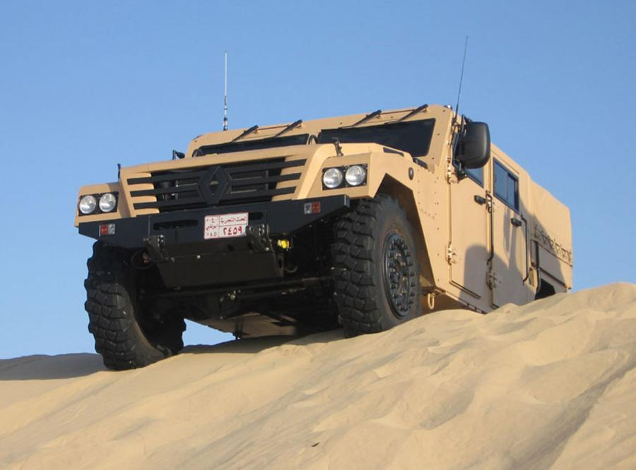 Sherpa, czyli Hummer od Renault