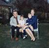 Księżna Grace i książę Rainier z dziećmi: Karoliną i Albertem w 1963 roku