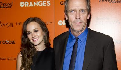 "Gwiazdy ""The Oranges"" – Leighton Meester i Hugh Laurie"