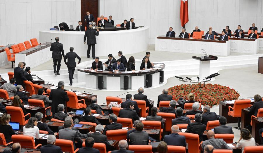 Turecki parlament