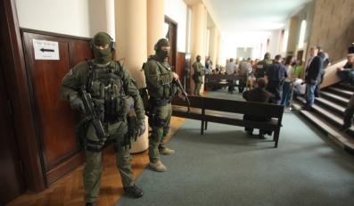Ogłaszanie wyroku w procesie gangu pruszkowskiego