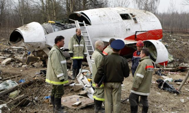 Smoleńsk katastrofa tupolew