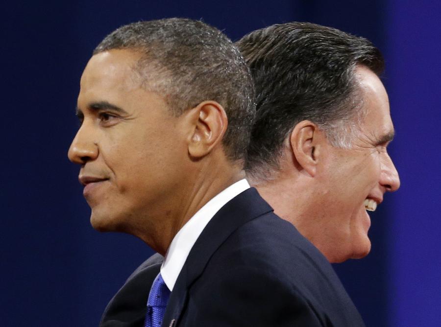 Romney i Obama