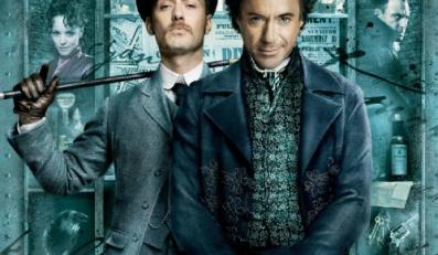 Plakat pierwszego odcinka przygód Sherlocka Holmesa