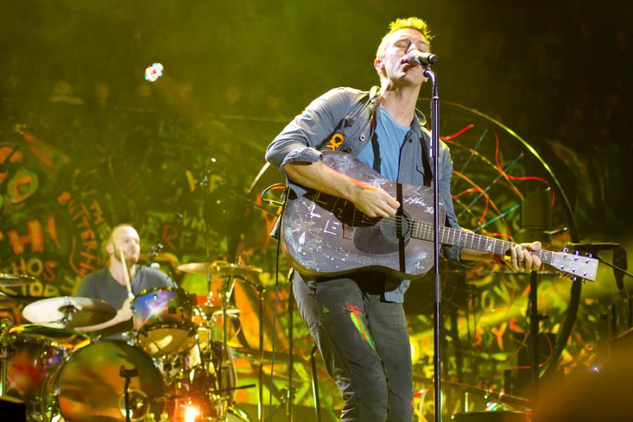Coldplay i \