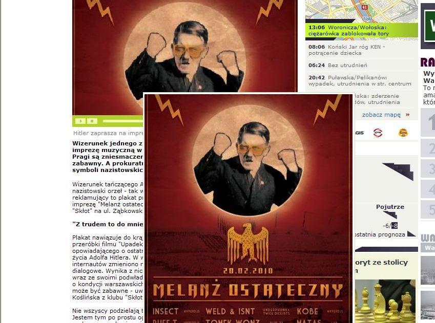 Hitler zaprasza na imprezę klubową