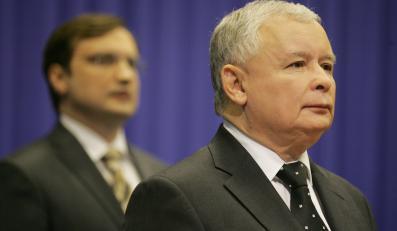 Jarosław Kaczyński i Zbigniew Ziobro