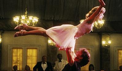 """Patricka Swayze i Jenifer Gray w """"Dirty Dancing"""""""