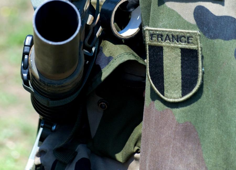 Francuski żołnierz