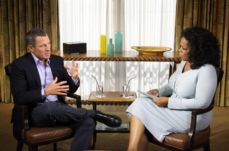 Lance Armstrong w programie Oprah Winfrey