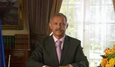 Marek Kondrat parodiuje prezydenta?