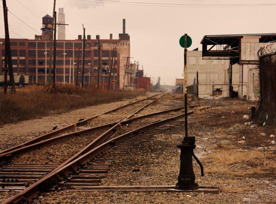 Stary dworzec kolejowy w Detroit