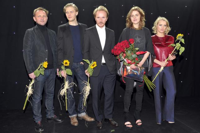 Andrzej Chyra, Jakub Gierszał, Jacek Borcuch, Magdalena Berus i Joanna Kulig