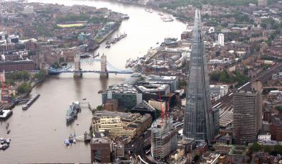 Widok na centrum Londynu