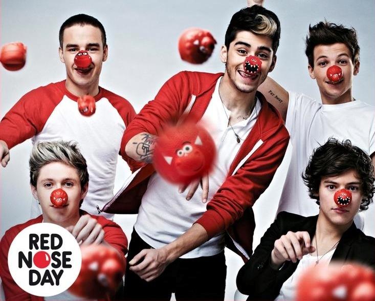 One Direction wspomagają akcję Comic Relief
