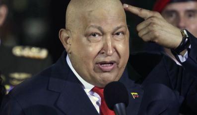 Zmarły prezydent Wenezueli Hugo Chavez