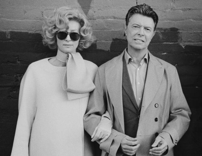 David Bowie i Tilda Swinton