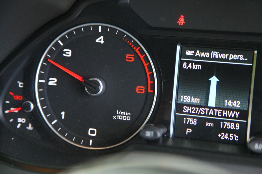 Obrotomierz Audi Q5