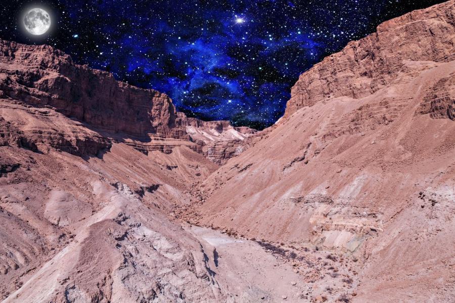 Marsjański krajobraz