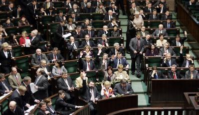 Większe emerytury dla parlamentarzystów
