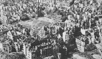 Warszawa w styczniu 1945 roku